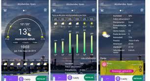 Los datos sobre el tiempo, temperatura, velocidad del viento, la humedad, la cota de nieve, presión, etc. Las Mejores Aplicaciones Del Tiempo Para Android Comparativa A Fondo
