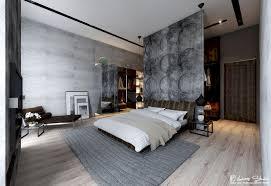 Modern Bedroom Flooring Concrete Bedroom Dazzling Exposed Concrete Wall Bedroom And Wood