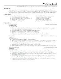 Waitress Skills For Resume Resume Maker Free Example Of For Waitress Skills Examples Samples