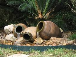 outdoor garden fountain. Outdoor Garden Fountains Ideas With Fountain Pot Trends A