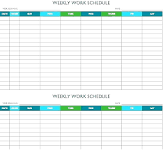 Week Fitness Plan Template Exercise Logs Journals Printable