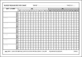Blood Pressure Forms For Tracking Blood Pressure Log Sheet Chart Template Daily Tracking Printable For