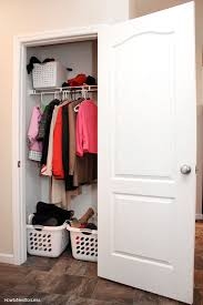 coat closet before makeover