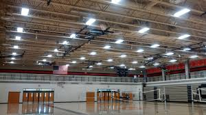 sound system for gym. but not much sound on the bleachers. we added a line of 5 speakers either side gym floor to cover both bleacher sections. system for 0
