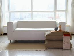 ikea klippan sofa white leather sofas