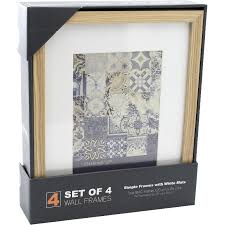 photo frame 5 x 7 natural acrylic wood photo frames accessories photo frames and als arts crafts