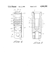patent us screw type dental implant anchor google patents patent drawing