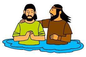 Image result for Jesus baptised