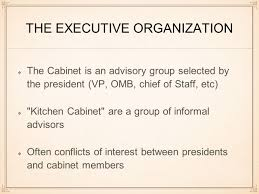 Presidential Kitchen Cabinet The Presidency Chapter 11 Ap Government The Perks 400000 Annual