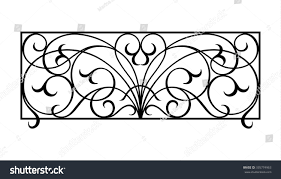 Balcony Fence balcony fence stock vector 335774963 shutterstock 4323 by guidejewelry.us