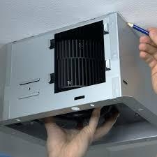 bathroom ceiling heater fan step 1 bathroom exhaust heater fan infrared