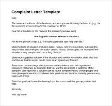 complaints letter samples co complaints letter samples