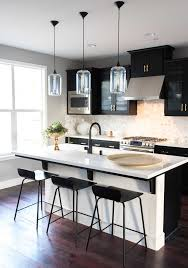 kitchen color ideas. 3 Gorgeous Ways To Soften Black Kitchen Cabinets Kitchen Color Ideas