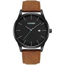 <b>Men's Leather</b> Watches: Amazon.com