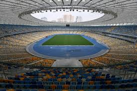Kiev Olympic Stadium Seating Chart Why Are Arsenal Playing Vorskla Poltava In Kiev In Their