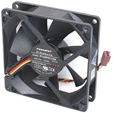 amazon com hp 80x25mm 12v 0 65a 4 wre 4 pin fan pva080g12q p15 ae foxconn pva092g12m dc12 volt 0 24 amp rear case brushless cooling fan 92mm x 92mm x 25mm 3 wire 3 pin connector