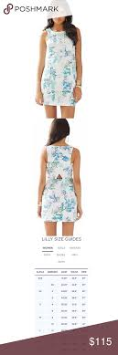 Lilly Pulitzer Size Chart Dresses Lilly Pulitzer Cecily Cut In Shift Dress Gorgeous And Nwt