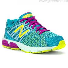 new balance girls. designer canada girls\u0027 shoes running - new balance kj890v5 sea glass/hi-lite sneakers \u0026 athletic girls s