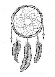 Drawn Dream Catchers Dream catcher Hand drawn Stock Vector © awesomedwarf 100 46