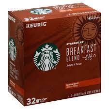 This coffee is our beginning, the very first blend we ever created for you back in 1971. Starbucks Breakfast Blend Medium Roast Single Serve Coffee K Cups Shop Coffee At H E B