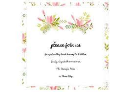 Beautiful Wedding Invitation Online Free Design Marriage Template