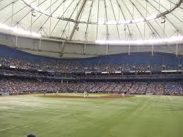 Seating Chart For Tropicana Field St Petersburg Tropicana Field Tampa Bay Rays Ballpark Ballparks Of Baseball