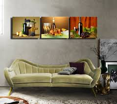 2016 rushed 3pcs modern canvas paintings matching wine and food for 2018 matching canvas wall art on matching canvas wall art with showing gallery of matching canvas wall art view 3 of 20 photos