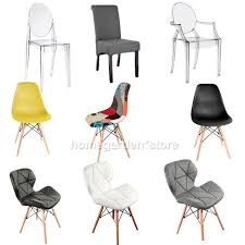 dining chair living chairs lounge wooden legs ghost clear arm patchwork chair uk