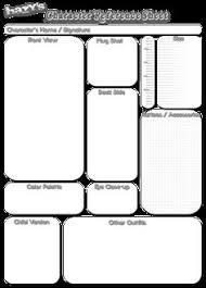 Oc Reference Sheet Template Mickayla Kirk 2025mickaylakirk On Pinterest