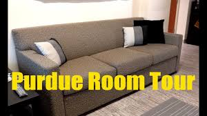 Purdue University Residences Room Tour A Sample Group Suite Style Room 2016