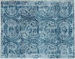 adeline rug blue pottery barn blue rug pottery barn blue rug smoke