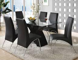 modern black dining table. dining room: adorable black modern table set appealing furniture edition design in 2018