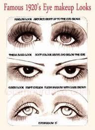 20s eye makeup looks 1920s makeup look roaring 20s makeup 1920s makeup gatsby