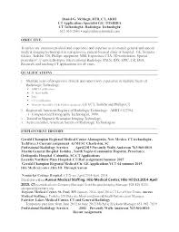 X Ray Tech Resume Skills. X Ray Technician Resume Tech Cover Letter ...