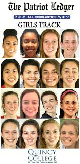The Quincy All scholastic Ledger Girls Sports Track Patriot qxWOvFRaw