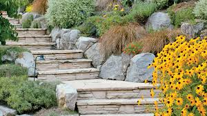 Lovely terraced staircase