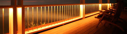deck lighting. Railing Mount Deck Lighting Under Rail Decksdirect