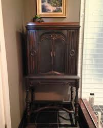 kitchen cabinet on radio 4 best of antique radio cabinet finished with annie sloan chalk paint
