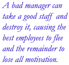 Dealing With A Bad Boss Workplace Insanity Mis Managers How Bad Managers Can