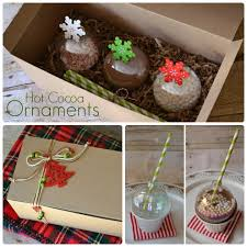 learn how to make hot cocoa ornaments a super cute gift idea for