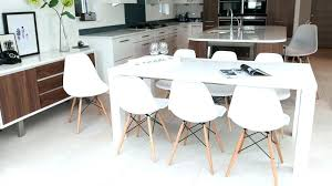 full size of hudson round white extending dining table with 6 bewley slate chairs vieux arctic