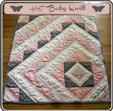 Best 25+ Baby girl quilts ideas on Pinterest | Baby quilt patterns ... & Baby girl quilt. Pink & grey. I absolutely love that this design is not Adamdwight.com