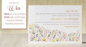 introducing minted letterpress a giveaway! green wedding shoes Letterpress Wedding Invitations Free Samples free sample pack of letterpress invites, you can do so here minted_contest Free Wedding Invitation Downloads