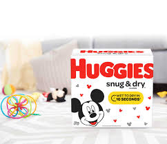 Huggies Snug Dry Diapers Newborn To Size 6 Diapers