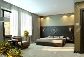 Modern Elegant Bedroom Modern Luxury Elegant Bedroom Interior Stock Photo Picture And