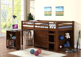 desk twin over full bunk bed with trundle and desk captain twin loft bed w