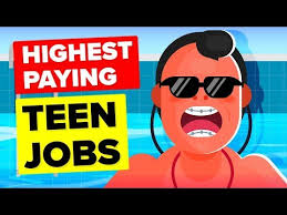 Best Paying Jobs For Teens The Infographics Show Archives Shift History