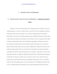 Writing a good literature review pdf