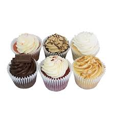 6 Pack Big Cupcakes Mix N Match Buttersweet Cupcakes