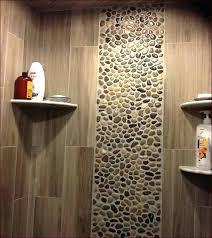 diy tile shower pebble tile shower walls diy mosaic tile shower floor